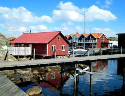 Bryggan i Skärhamn