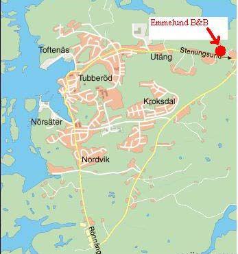 Hitta till Emmelund -karta 2