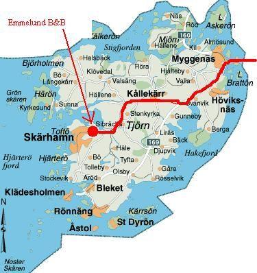 Hitta till Emmelund - karta1
