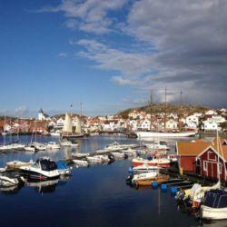 Vackara båtar i Skärhamns hamn